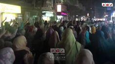 مسيرة ليلية حاشدة مناهضة للانقلاب العسكري و ضد الانتخابات الرئاسية بطنطا