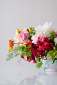 Colorful flowers | Photography: Anna Wu