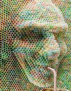 Cool straw art