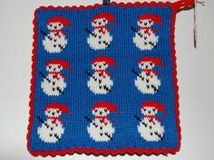 Ingegerds grytlappar - vittingebrodyr Pot Holders, Crocheting, Knitwear, Presents, Textiles, Kids Rugs, Knitting, Tips, Christmas
