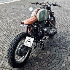 caferacerpasion.com BMW R80ST #Scrambler by Mikael CRS [TAGS] #caferacerpasion #bmw