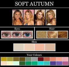 Ooh Très Chic: THE SKIN TONE SEASONS: soft autumn. Spot-on celeb examples!
