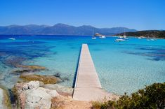 One of the most beautiful beaches in the world, Lotu's beach, Corsica  http://www.discoverfrance.com/european-tours-destinations/corsica-cycling