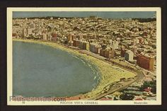 OLD  picture from Montevideo ( Pocitos ) ,  URUGUAY ++
