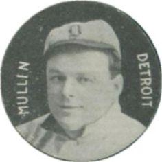 1909-11 Colgan's Chips Stars of the Diamond E254 #NNO George Mullin Front