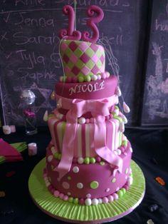 Topsy-turvy cake for birthday 13th Birthday, Birthday Cake, Celebration Cakes, Desserts, Food, Birthday Cakes, Meal, Deserts, Essen