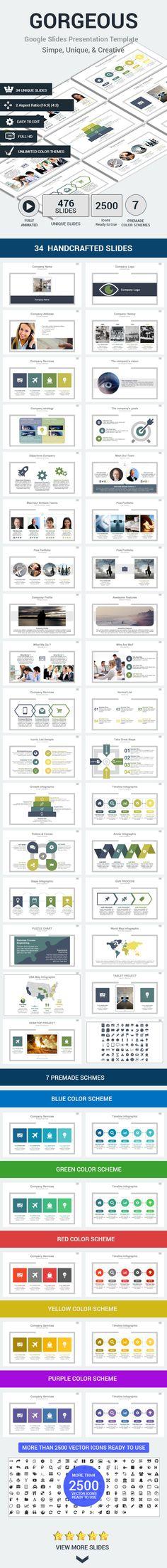 Google Slides Presentation Template #design Download: http://graphicriver.net/item/google-slides-presentation-template/13735628?ref=ksioks