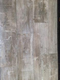 Tegelvloer houtlook