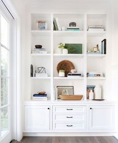 How can I get my shelves like this?