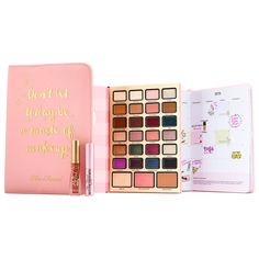 Too Faced Boss Lady Beauty Agenda, new for holiday 2017