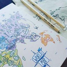 Sólo por esta semana el #CuadernoDeViaje viene de regalo con un #draftbook + una #bolsita de tela + un lápiz. Encargalo por la tienda online y recibilo cuanto antes  #viaje #viajes #viajero #traveler #travel #travelblog #wanderlust #imagine #worldmap #diariodeviaje #bitacora