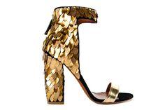 never enough gold shoes