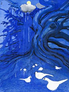 Paintings - Brett Whiteley - Page 5 - Australian Art Auction Records Australian Painting, Australian Birds, Australian Artists, Primary School Art, A Level Art, European Paintings, Indigenous Art, Art Auction, Bird Art
