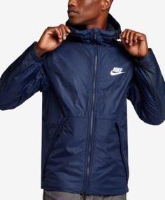 ea876e77ad3 Nike Men's Sportswear Insulated Rain Jacket & Reviews - Coats & Jackets -  Men - Macy's