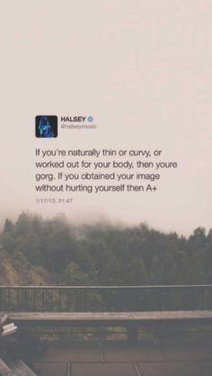 Halsey tweet quote