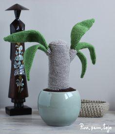 iBook 5 patrones para tejer plantas de ganchillo. Una colección de Pim, pam, teje Crochet Cactus, Home Decor, Diy, Felt, Animal, Plant Decor, Cactus, Craft, Crochet Flowers