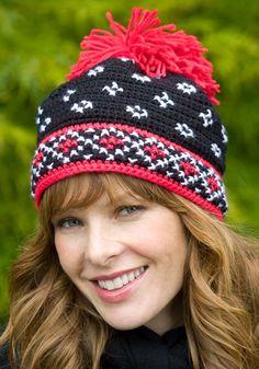 Crochet Scandinavian Hat