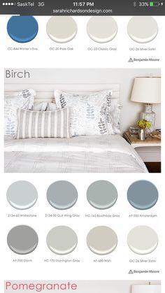 Colour Gray Basement, Basement Colors, Stonington Gray, Black And Navy, Color Pallets, White Oak, Paint Colors, Mattress, Colours