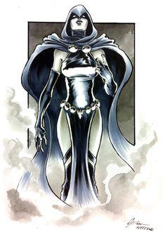 Michael Dooney deviantART | DC_Fan_Art_22_raven_by_danielgovar-d5i3czt