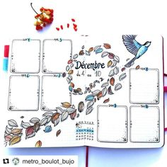 "38 Likes, 1 Comments - Ashlyn (@bluenittany) on Instagram: ""Saturday Shoutout This week I'm showing some love for @metro_boulot_bujo ! Her journal is filled…"""