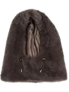 GIAMBATTISTA VALLI - mink fur hood 1