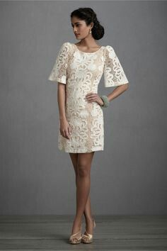 Rehearsal dinner with boots? (Persephone Shift in SHOP The Bride Reception Dresses at BHLDN) Bride Reception Dresses, Wedding Reception Outfit, Rehearsal Dinner Dresses, Wedding Dresses, Rehearsal Dinners, Party Dresses, Reception Party, Dresses Dresses, Gown Wedding