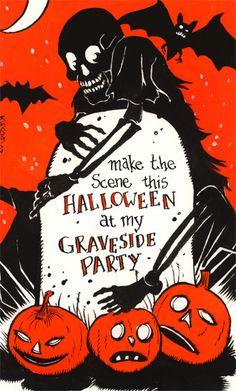 Halloween Invitation 2008