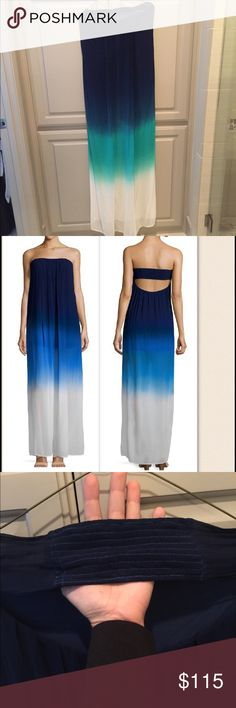 Young Fabulous and Broke ombré maxi dress Young Fabulous and Broke ombré maxi dress.  Second picture is for fit but color is first, third and fourth pic.  Never worn. Young Fabulous & Broke Dresses Maxi