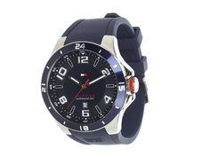 Tommy hilfiger 1790862 sport bezel and silicone strap watch Smart Watch, Tommy Hilfiger, Watches, Sports, Hs Sports, Smartwatch, Wristwatches, Clocks, Sport