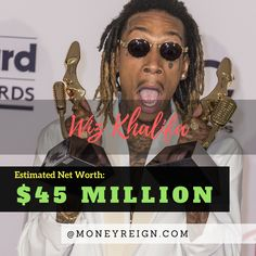 Wiz Khalifa might not be a house hold name yet, but that doesn't matter for him -- as he already has a net worth of $45 million. What's next on the horizon for Wiz and his music success?
