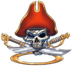Tattoo Project, Pirate Skull, Skull And Bones, Disney Characters, Pictures, Skulls, Gypsy, Pirate Images, Motorbikes