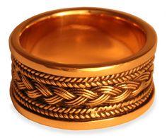Wikingerring ~ Baldur ~ Bronze - Wikingerringe - Windalf