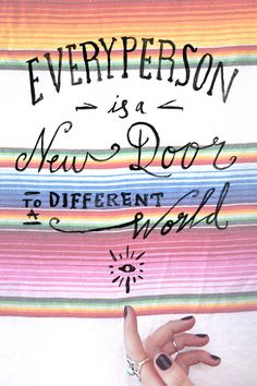 Monday Quote: A New Door | Free People Blog #freepeople