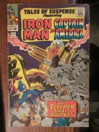 Tales of Suspense #72 Marvel Comics The Sleeper Shall Awaken IRON MAN Capt. America  no slice