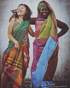Spend a Diwali where happiness of friendships are louder than crackers. #sanjukta #beyondborders #friendship #sari #sarees #borders #colours #happiness #diwali #nocrackers #saree #handloom #handwoven #kitsch #nonoise #kolkata #india #indianfestival #photography #friends @yocowatanabe