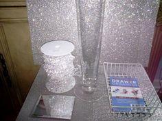 Crystal Chandelier Centerpiece :  wedding crystal chandelier centerpiece diy pink reception 2011 04 05 19.57.28