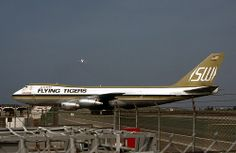 Flying Tigers (former SWA), Boeing 747-200F | Flickr - Photo Sharing!