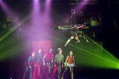 Cirko Vertigo, la magia del clown che cammina a testa in giù
