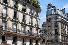 View of buildings in Paris France royalty-free stock photo