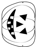 Print, cut out, and decorate this Jack O'Lantern for kids to wear as a Halloween mask. http://www.teachervision.fen.com/halloween/printable/25460.html #pumpkins #Halloween