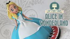 Alice in Wonderland Doll Cake
