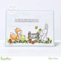 Craftwork Cards Enchanted Woodland Die-cut Animals Messages