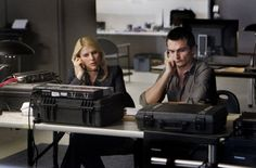 Still of Claire Danes and Rupert Friend in Homeland