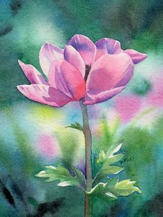 Barbara Fox ~ Watercolor painter | Tutt'Art@ | Pittura * Scultura * Poesia * Musica |