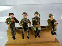 4 Umbau Massefiguren aufgesessen für Fahrzeuge - mimikry Tarnung - Lot4 | eBay