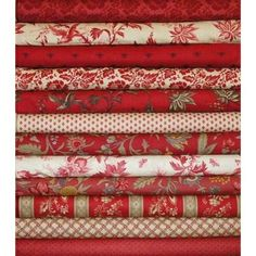 Moda French General Josephine Red Fat Quarters