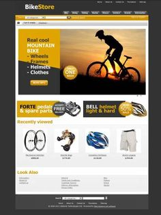Bike Store CS-Cart Theme Template is specially designed for spotr`s stores products. Garmonical colors combination of yellow and black is the Best decorate for Bikes & Frames, Bike Parts & Components, Bike Chains, Bike Cassettes, Bike Cranksets, Chainrings, Tires, Tubes & Wheels, Cycling Clothing, Bicycle Trainers. It is very nice with its clean and professional look.