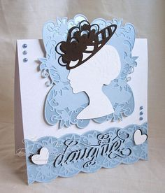 Blog tonic: Daughter...a card from Edna