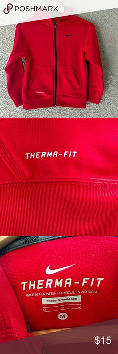 Nike Women's Therma-Fit Hoodie Sweatshirt A therma-fit Nike women's hoodie sweatshirt. In EXCELLENT CONDITION! Nike Tops