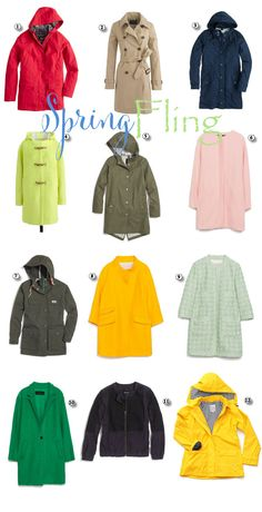 Have a Fling // Spring Outerwear // Late Afternoons Blog  www.late-afternoons.com // #spring #springouterwear #lateafternoons